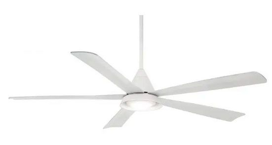 Minka Aire Cone LED in White
