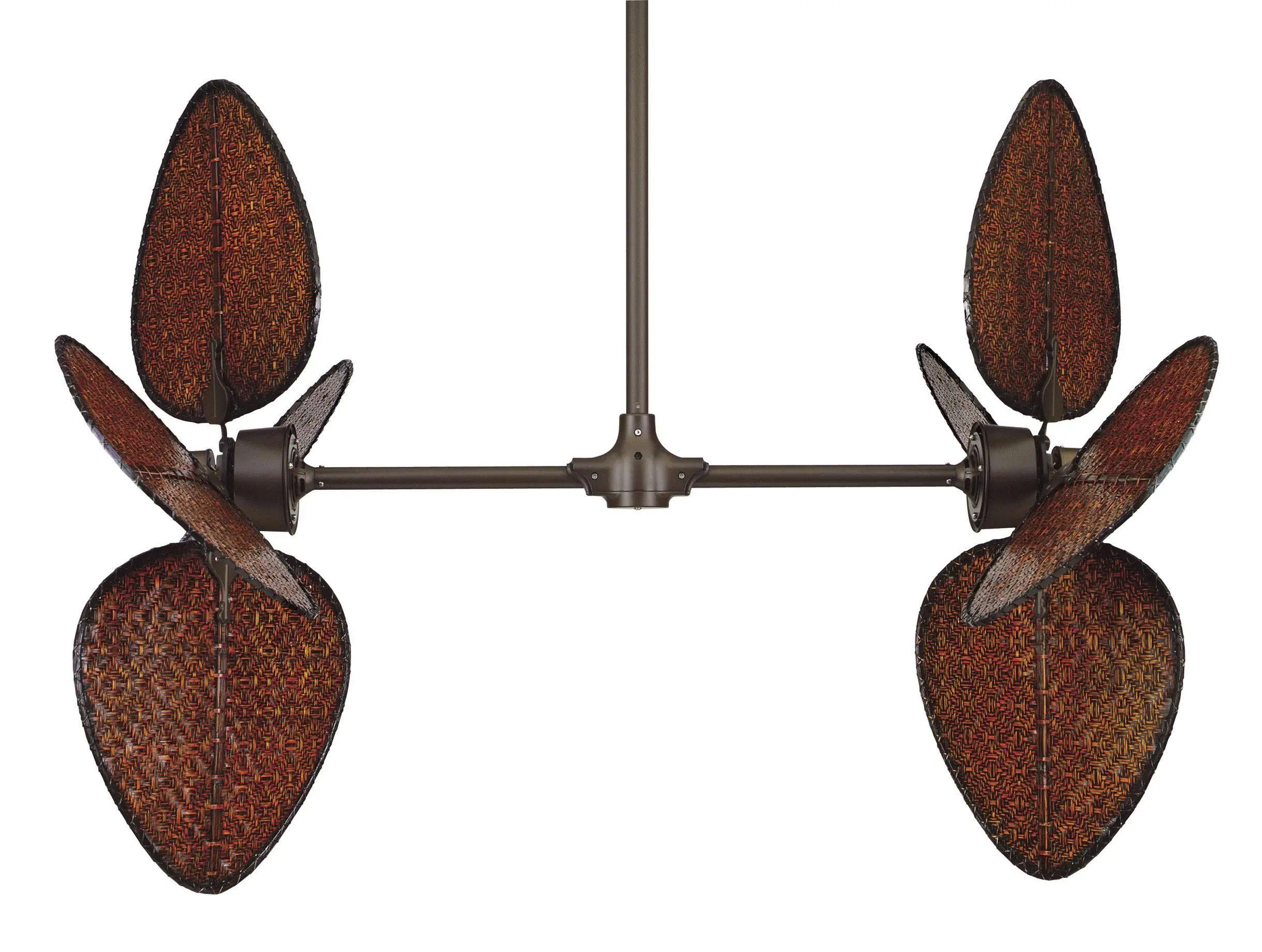 Fanimation Palisade Ceiling Fan In OiL-Rubbed Bronze