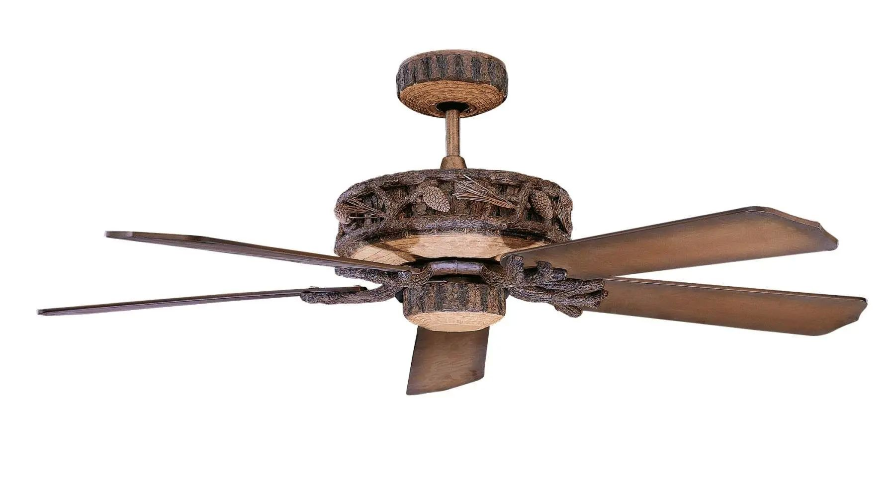 Concord Ponderosa Outdoor Ceiling Fan in Old World Leather