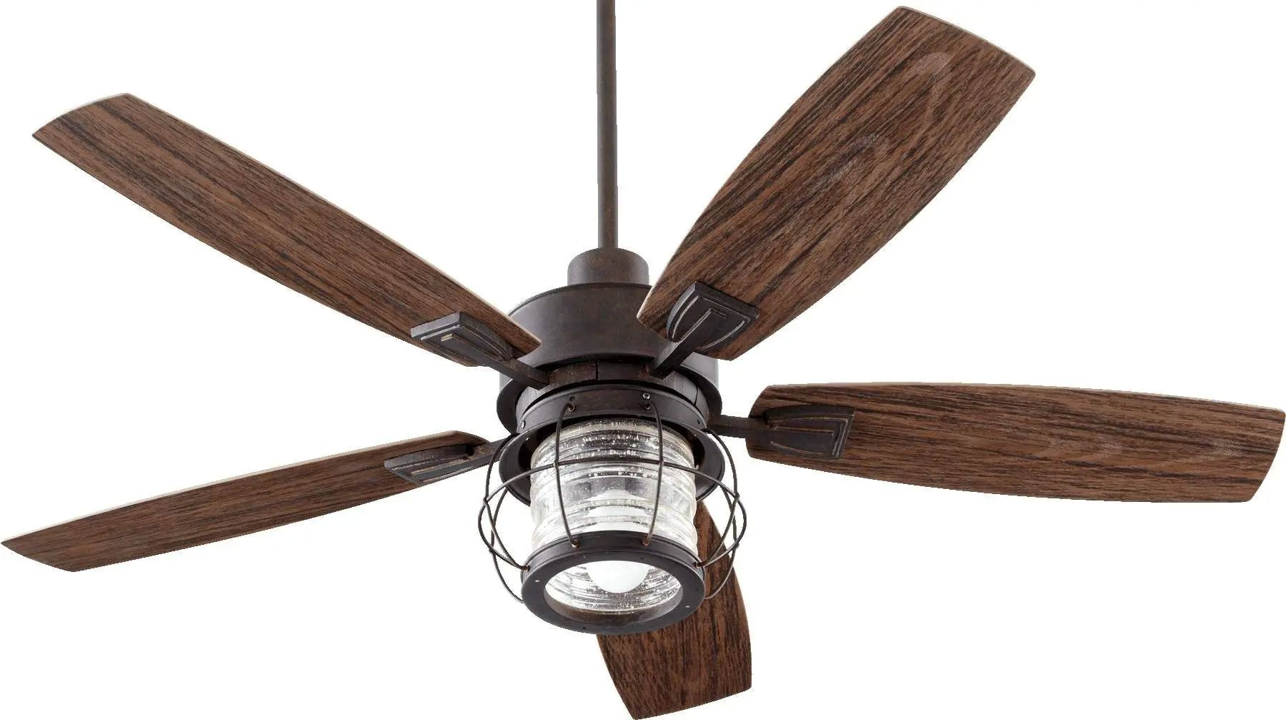 Quorum Galveston Ceiling Fan In Toasted Sienna