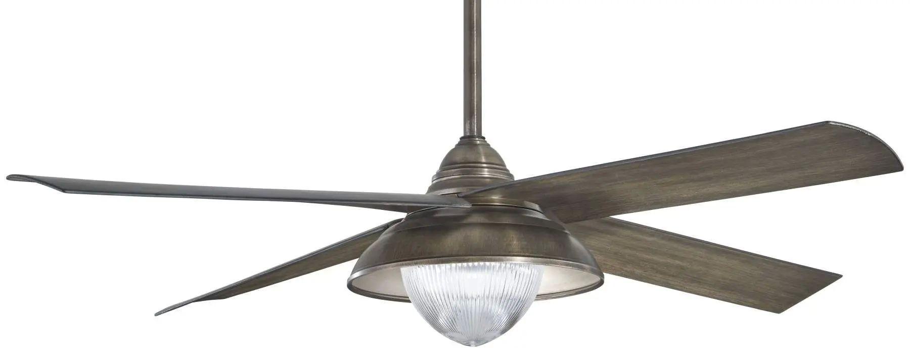 Minka Aire Shade LED Ceiling Fan In Heirloom Bronze