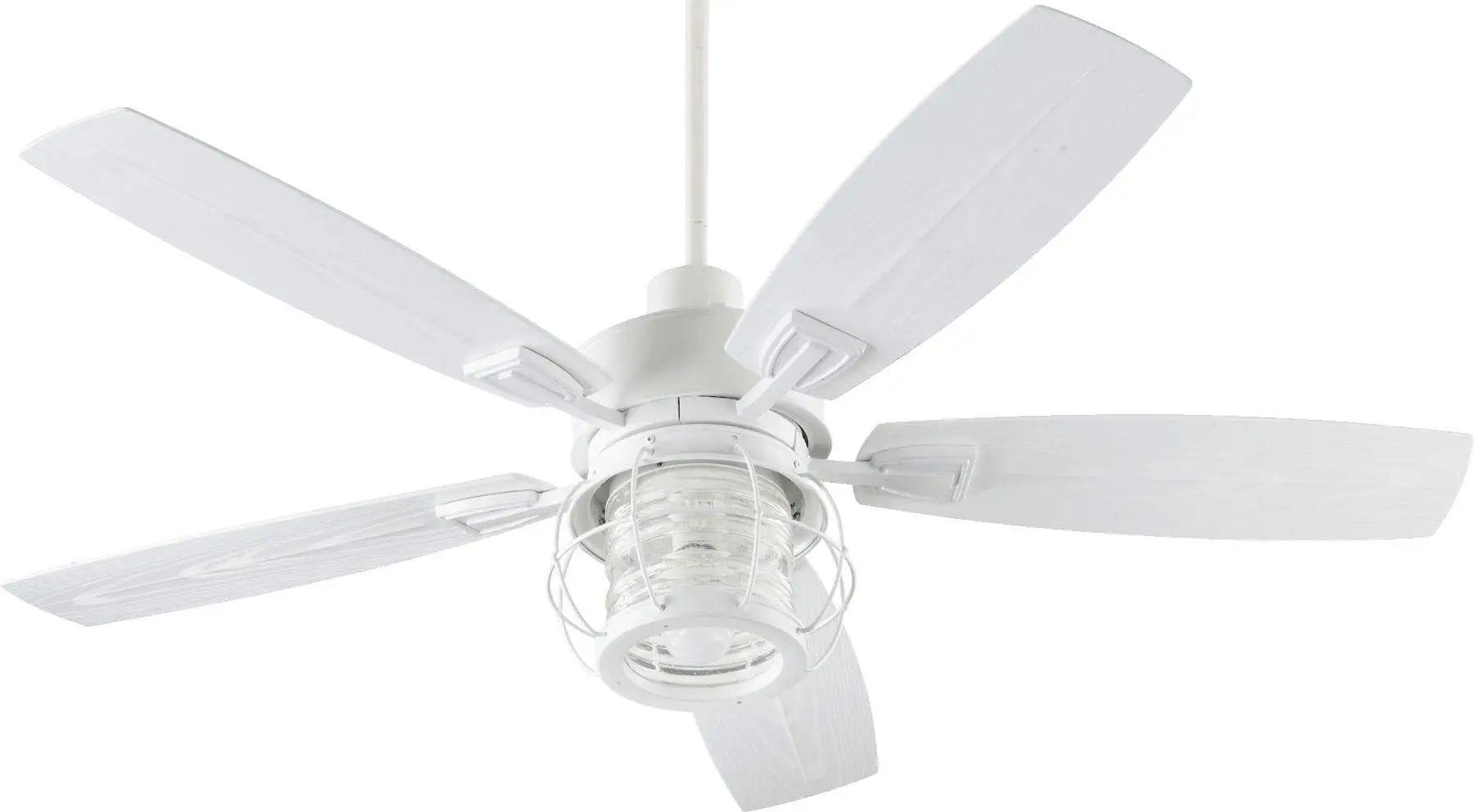 Quorum Galveston Ceiling Fan In Studio White