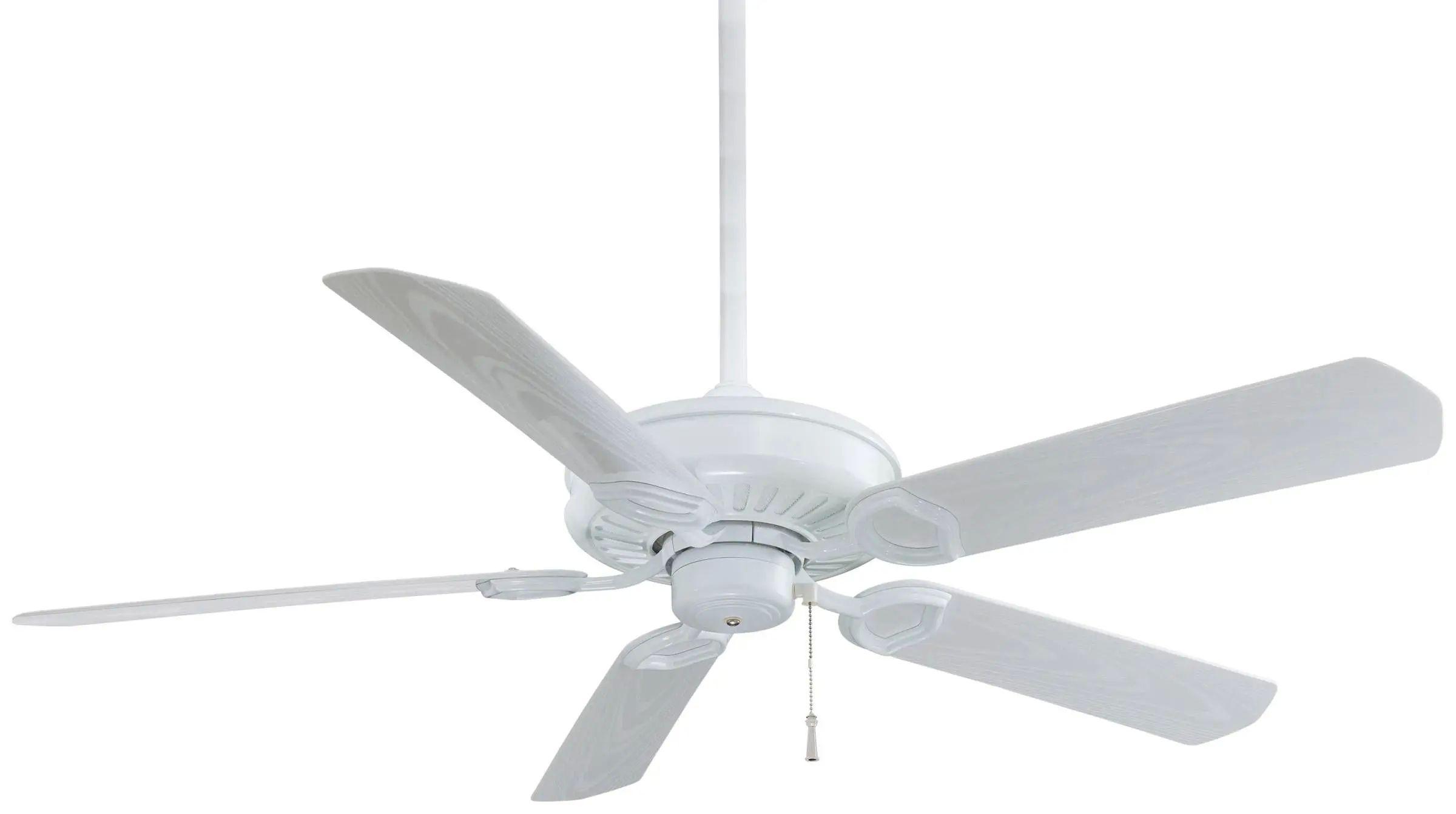 Minka Aire Sundowner Ceiling Fan In White