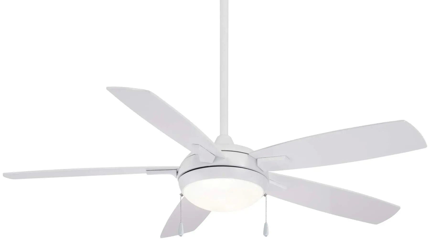 Minka Aire Lun-Aire LED Ceiling Fan In White