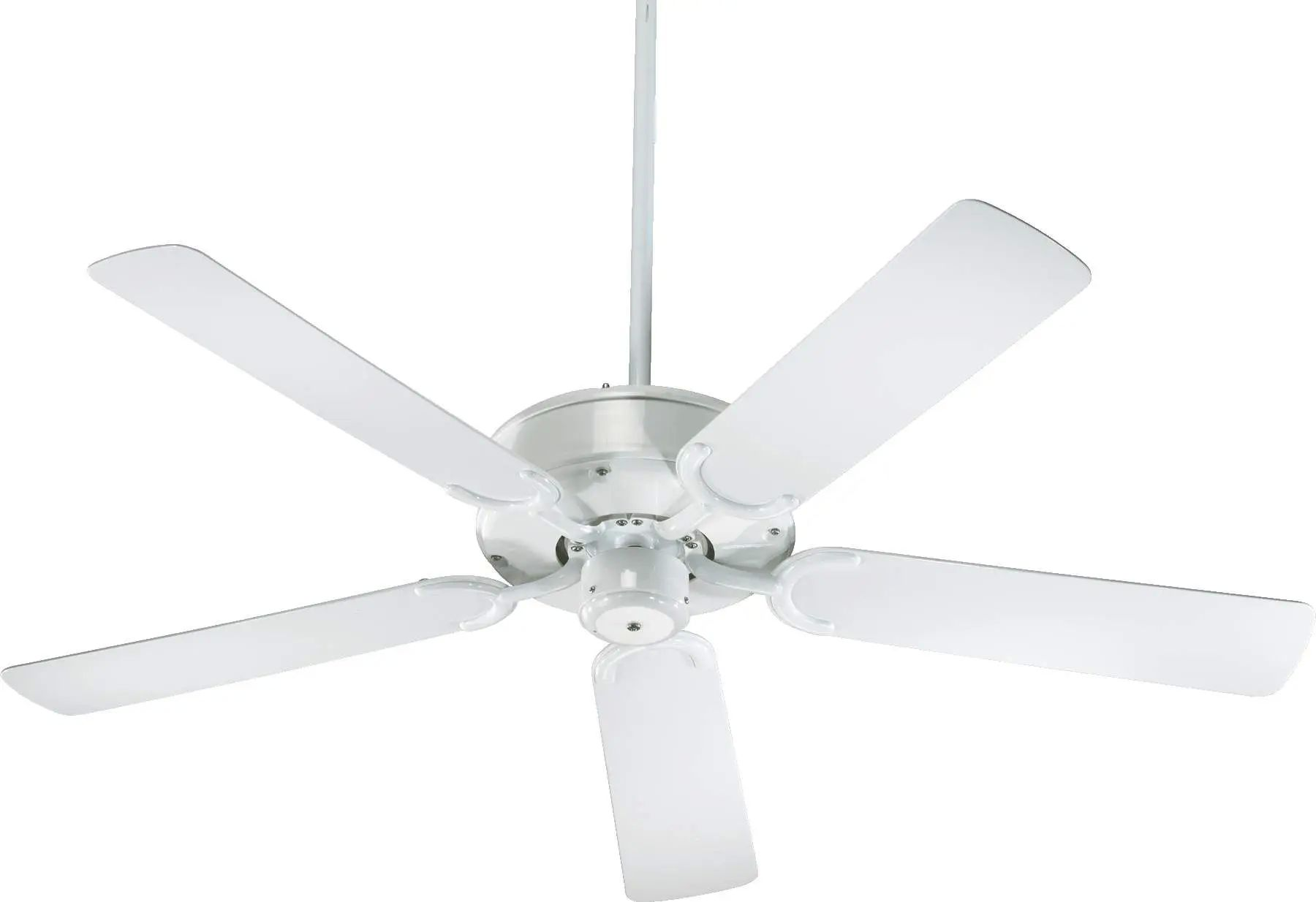 Quorum All-Weather Allure Ceiling Fan In White