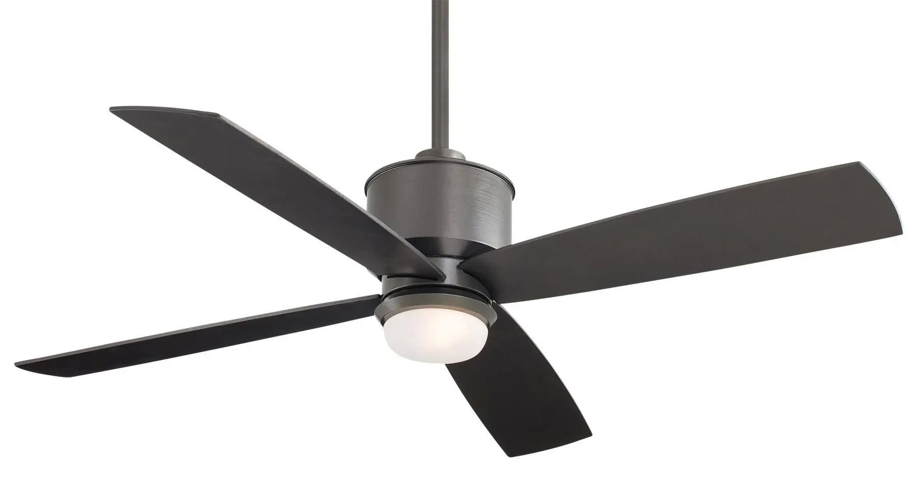 Minka Aire Strata Ceiling Fan In Smoked Iron