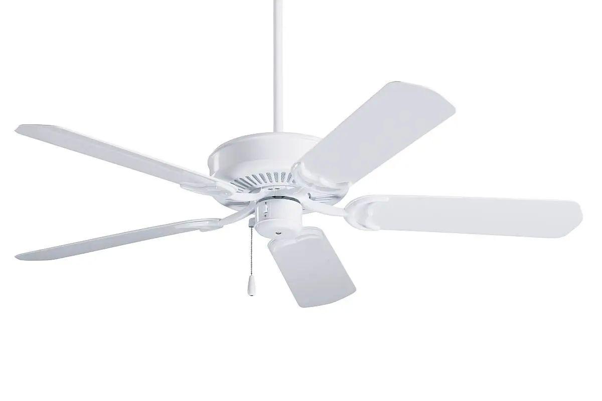 Emerson Sea Breeze Wet Location Ceiling Fan - Gloss White